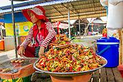 Crab, Food Market, Koh Chen, Cambodia