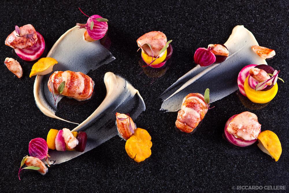 Food photography - Kaizen Sushi Bar, Montreal. Chef Noam Geladof. 2012.