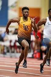 Don Kirby Invitational Indoor Track & Field<br /> Albuquerque, NM, Feb 14, 2020<br /> mens 60m heats, Long Beach State
