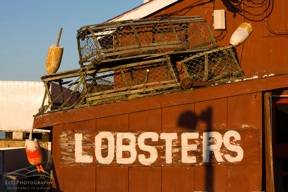 Holbrook's Lobster Wharf and Grille.  Cundy Harbor, Maine.