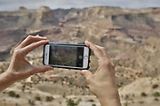 SHOT 5/21/17 10:44:36 AM - Emery County is a county located in the U.S. state of Utah. As of the 2010 census, the population of the entire county was about 11,000. Includes images of mountain biking, agriculture, geography and Goblin Valley State Park. (Photo by Marc Piscotty / © 2017)