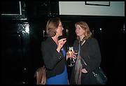 EMMA DUNCAN; ROSIE ALISON, Launch of Rachel Kelly's memoir 'Black Rainbow' about recovering from depression with the help of poetry published by Hodder & Stoughton , ( Author proceeds will be given to the charities SANE and United Response ). Cafe of the National Gallery.  London. 7 May 2014