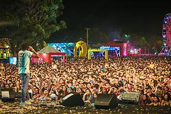 Matuê durante a 25ª edição do Planeta Atlântida. O maior festival de música do Sul do Brasil ocorre nos dias 31 Janeiro e 01 de fevereiro, na SABA, praia de Atlântida, no Litoral Norte do Rio Grande do Sul. FOTO: <br /> André feltes/ Agência Preview
