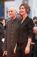 Jonathan Demme, Alix Delaporte at the gala screening for the film Everest and opening ceremony at the 72nd Venice Film Festival, Wednesday September 2nd 2015, Venice Lido, Italy.