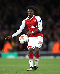 Arsenal's Ainsley Maitland-Niles during the Europa League match at the Emirates Stadium, London.