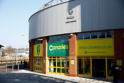 A general view of Carrow Road, home of Norwich City - Mandatory by-line: Phil Chaplin/JMP - 23/02/2019 - FOOTBALL - Carrow Road - Norwich, England - Norwich City v Bristol City - Sky Bet Championship
