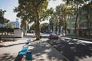 City street in Tiraspol, capital of the breakaway republic of Transnistria.