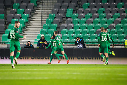 Abass Issah of NK Olimpija Ljubljana during football match between NK Olimpija Ljubljana and NK Maribor in 1st leg match in Quaterfinal of Slovenian cup 2017/2018, on November 11, 2017 in SRC Stozice, Ljubljana, Slovenia.  Photo by Ziga Zupan / Sportida
