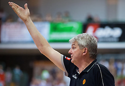 Ales Pipan, head coach of Macedonia  during friendly match between National teams of Slovenia and Republic of Macedonia for Eurobasket 2013 on July 28, 2013 in Litija, Slovenia. Slovenia defeated Macedonia 63-54. (Photo by Vid Ponikvar / Sportida.com)