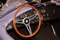 08 February 2007: 60's era Shelby Cobra cockpit. The Chicago Auto Show is a charity event of the Chicago Automobile Trade Association (CATA) and is held annually at McCormick Place in Chicago Illinois.
