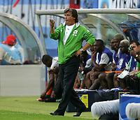 Hamburg 10/6/2006 World Cup 2006<br /> <br /> Argentina Cote d'Ivoire - Argentina Costa d'Avorio 2-1<br /> <br /> Photo Andrea Staccioli Graffitipress<br /> <br /> Henri Michel Cote d'Ivoire trainer