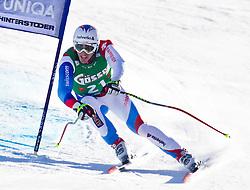 05.02.2011, Hannes-Trinkl-Strecke, Hinterstoder, AUT, FIS World Cup Ski Alpin, Men, Hinterstoder, Super-G, im Bild Tobias GRUENENFELDER (SUI) // Tobias GRUENENFELDER (SUI) during FIS World Cup Ski Alpin, Men, Super-G in Hinterstoder, Austria, February 05, 2011, EXPA Pictures © 2011, PhotoCredit: EXPA/ J. Feichter