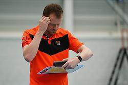 20180331 NED: Eredivisie Sliedrecht Sport - Regio Zwolle, Sliedrecht <br />Wilfried Groothuis, headcoach of Regio Zwolle <br />©2018-FotoHoogendoorn.nl / Pim Waslander