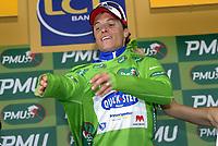 Sykkel<br /> Tour de France 2010<br /> 05.07.2010<br /> Foto: PhotoNews/Digitalsport<br /> NORWAY ONLY<br /> <br /> ETAPE 2 : BRUSSELS - SPA<br /> <br /> Sylvain Chavanel (Team Quickstep)