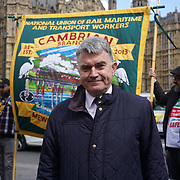 RMT National Protest Against Driver Only Operation