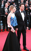 Sophie Flack and Josh Charles, at the Two Days, One Night (Deux Jours, Une Nuit) gala screening red carpet at the 67th Cannes Film Festival France. Tuesday 20th May 2014 in Cannes Film Festival, France.