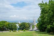 View over Quebec from the Citadelle de Quebec, Canada.