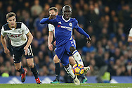 Ngolo Kante of Chelsea in action. Premier league match, Chelsea v Tottenham Hotspur at Stamford Bridge in London on Saturday 26th November 2016.<br /> pic by John Patrick Fletcher, Andrew Orchard sports photography.