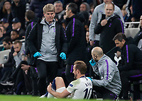 Football - 2018 / 2019 UEFA Champions League - Quarter Final , First Leg: Tottenham Hotspur vs. Manchester City<br /> <br /> Concerned medical team tend to the injured Harry Kane (Tottenham FC)  at White Hart Lane Stadium.<br /> <br /> COLORSPORT/DANIEL BEARHAM