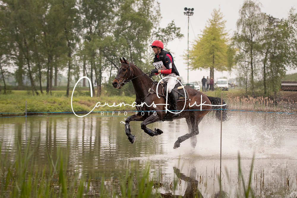 Ooms Tim, BEL, Kyba vd Jomaheide<br /> LRV Nationale finale AVEVE Eventing Cup voor Paarden - Minderhout 2018<br /> © Hippo Foto - Dirk Caremans<br /> 29/04/2018
