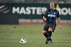 Bari (BA) 21.07.2012 - Trofeo Tim 2012. Inter - Juventus. Nella Foto: Cambiasso (I)
