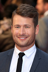 attends The Guernsey Literary and Potato Peel Pie Society world premiere at the Curzon Mayfair in London, UK. 09 Apr 2018 Pictured: Glen Powell. Photo credit: Fred Duval / MEGA TheMegaAgency.com +1 888 505 6342