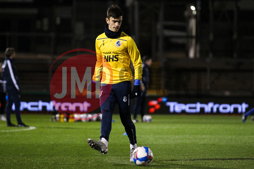 Zain Westbrooke of Bristol Rovers prior to kick off- Mandatory by-line: Will Cooper/JMP - 18/11/2020 - FOOTBALL - Memorial Stadium - Bristol, England - Bristol Rovers v Chelsea U21 - Papa John's Trophy