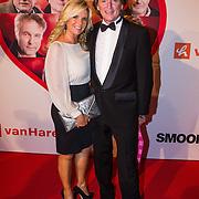 NLD/Scheveningen/20130909 -  Filmpremiere Smoorverliefd, Erik de Zwart en partner Marika