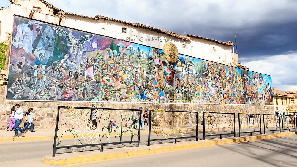 Mural Cusco, Peru