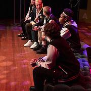 NLD/Amsterdam/20200129 - Hartenhuis Awards 2020, Jamai Loman in gesprek met The Unforgettables