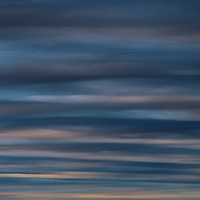 """""""Moody Blues""""<br /> <br /> Strikingly beautiful yet moody!! Ribbons and strands of blues, grays, and creams!!<br /> An image that can be delved into deeply!!<br /> <br /> Nature Abstracts by Rachel Cohen"""