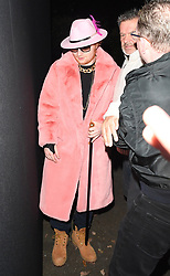 Ed Sheeran and Cherry Seaborn seen leaving Jonathan Ross Halloween Party in London. <br /><br />1 November 2017.<br /><br />Please byline: Craig/WillVantagenews.com