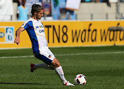 Marc van Heerden of Chippa United during the 1st leg of the MTN8 Semi Final between Chippa United and Mamelodi Sundowns held at the Nelson Mandela Bay Stadium in Port Elizabeth, South Africa on the 11th September 2016<br /><br />Photo by: Richard Huggard / Real Time Images