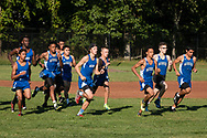 Middletown, New York - Middletown High School varsity cross country meet at Presidential Park Elementary School on Sept. 7,  2017.