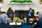 March 03, 2021 - DC: President Biden Holds Bipartisan Meeting On Cancer
