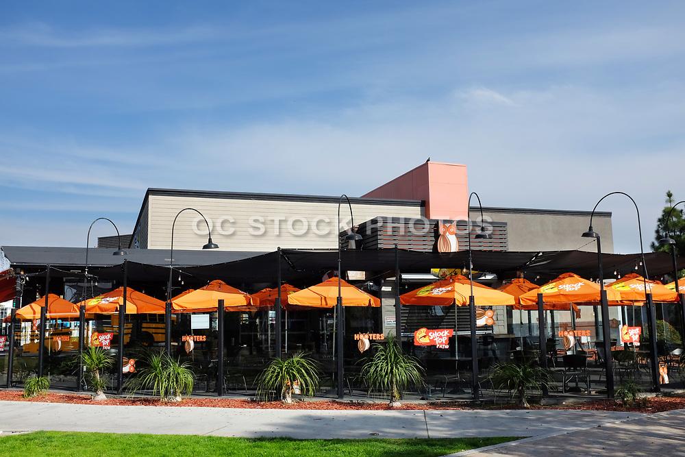 Hooters Restaurant in Shoreline Village near the Convention Center