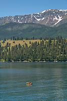 Rafter on Wallowa Lake Joseph, Oregon