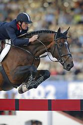Levallois Eric, FRA, Diamant de Semilly Ecolit<br /> World Equestrian Games Jerez de la Fronteira 2002<br /> Photo © Dirk Caremans