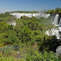 South America, Argentina, Iguacu Falls.