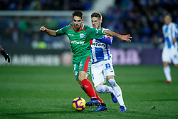 November 23, 2018 - Leganes, MADRID, SPAIN - Sobrino of Alaves during the Spanish Championship La Liga football match between CD Leganes and Deportivo Alaves on November 23th, 2018 at Estadio de Butarque in Leganes, Madrid, Spain. (Credit Image: © AFP7 via ZUMA Wire)