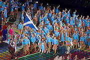 23.07.2014. Glasgow, Scotland. Glasgow Commonwealth Games. The opening ceremony.  Team Scotland