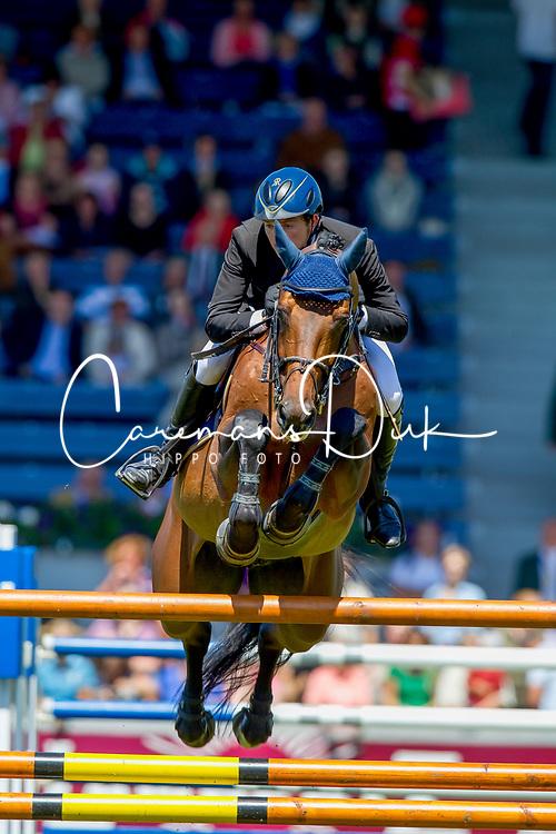Kreuzer Andreas (GER) - Chacco Blue<br /> World Equestrian Festival, CHIO Aachen 2011<br /> © Dirk Caremans