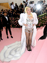 Gwen Stefani attending the Metropolitan Museum of Art Costume Institute Benefit Gala 2019 in New York, USA.