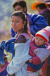 Woman & Child Todos Santos Festival