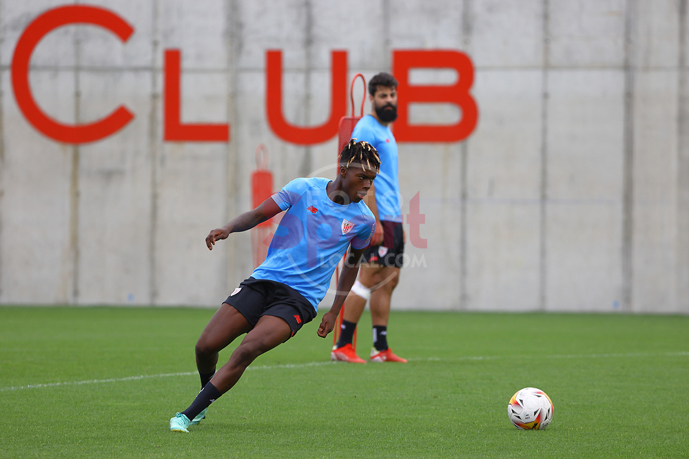 Training in Lezama Sports City, Athletic Club de Bilbao 2021 July 29