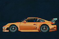 The legendary Porsche 911 is known to everyone and is the most iconic sports car ever. But not everyone knows that the ¨Porsche 911 has also been made in other versions such as this racing version Porsch 997 GT 3 RS. -<br />