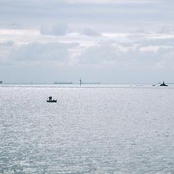 Oceano (paisagem) fotografado em Vitória, capital do estado do Espírito Santo -  Sudeste do Brasil. Oceano Atlântico. Registro feito em 2018.<br /> ⠀<br /> ⠀<br /> <br /> <br /> <br /> ENGLISH: Ocean Landscape photographed in Vitória, capital of the Espírito Santo state - Southeast of Brazil. Atlantic Ocean. Picture made in 2018.