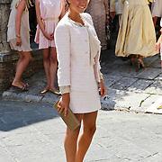 ITA/Siena/20100718 - Huwelijk wesley Sneijder en Yolanthe Cabau van Kasbergen in Siena Italie
