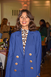 Jasmine Hemsley at the ASAP VIP lunch (African Solutions To African Problems) held at the RHS Lindley Hall, 80 Vincent Square, London, England. 10 October 2018.