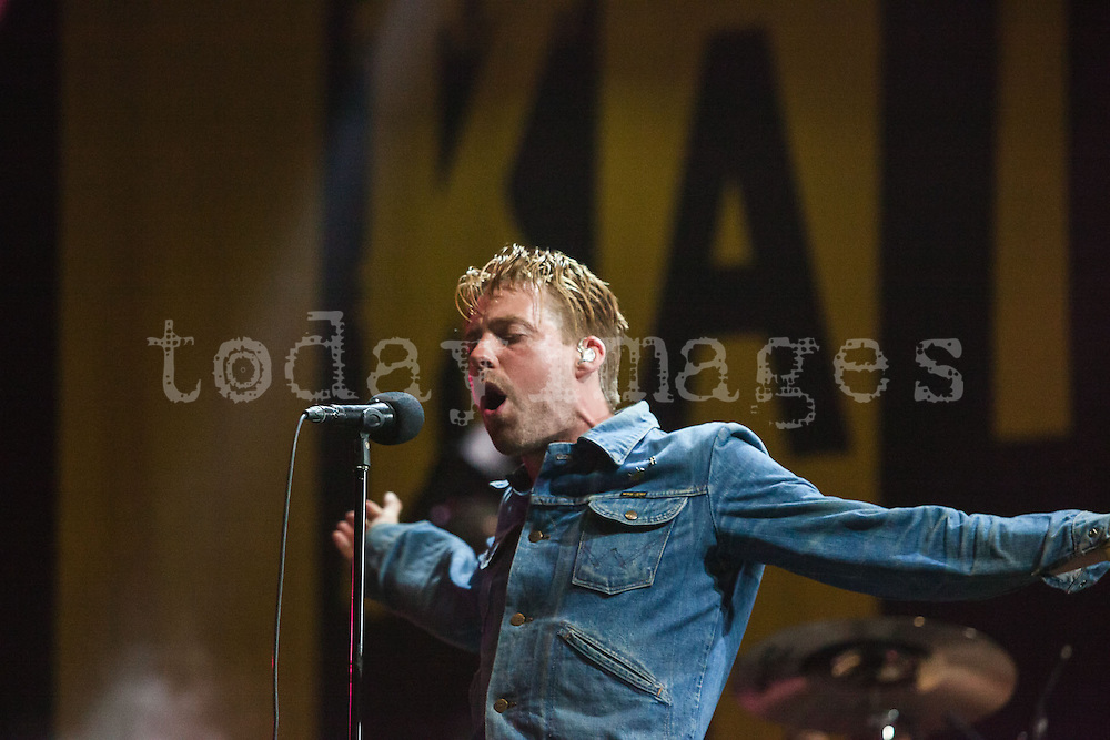 Kaiser Chiefs performing at the 19th Festival International of Benicassim, Spain